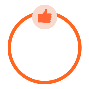 67% Increase in online sales graphic