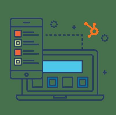Hubspot Websites line icon
