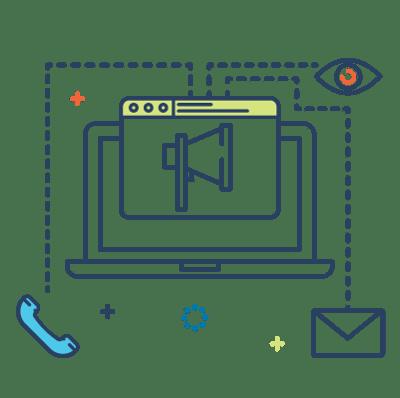 HubSpot Implementation & Integration line icon
