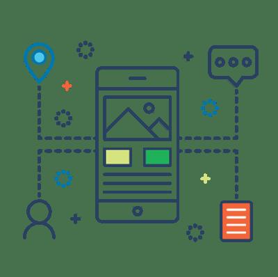Sales Focused Content line icon