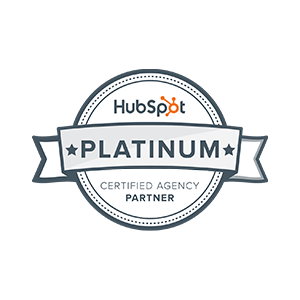 Hubspot Certified Gold Partner emblem
