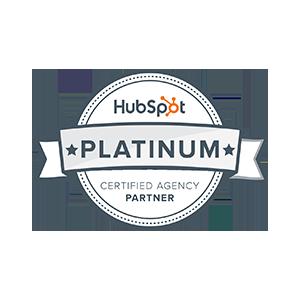 Hubspot Certified Gold Partner emblem