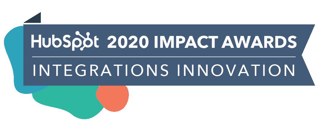 HubSpot Impact Award Integrations Innovation